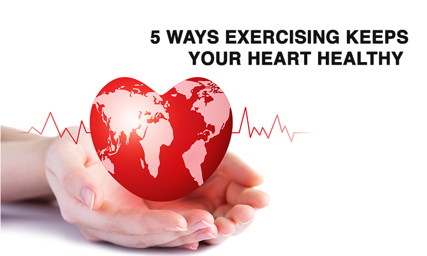 World Heart Day: 5 Ways Exercising Keeps your Heart Healthy